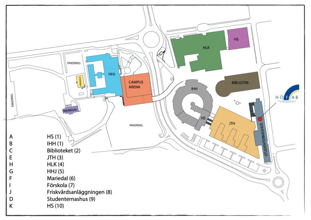 Högskoleområdet Jönköping